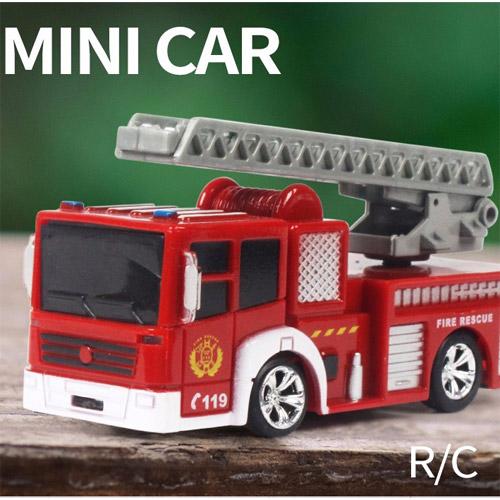 Радиоуправляемая Мини Пожарная машина (1:63, 8 см.) - Фотография