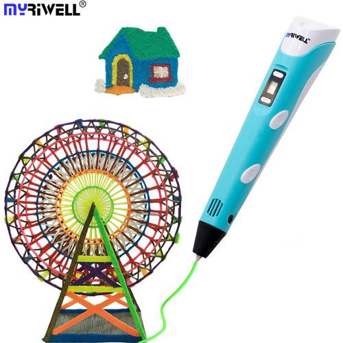 3D ручка Myriwell с ЖК-дисплеем (2-е поколение)