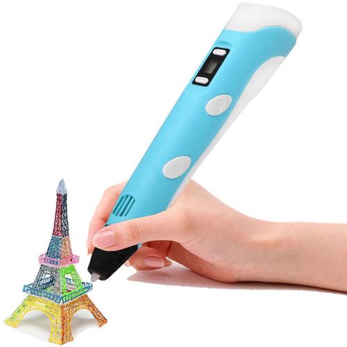 3D ручка 3DPEN (рисует пластиком)