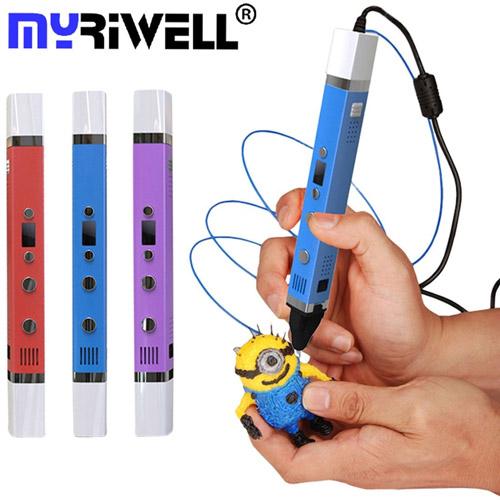 3D ручка Myriwell с ЖК-дисплеем (3-е поколение)