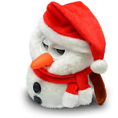 Интерактивная игрушка Умный Снеговик Hibou Boli (15+ функций, 17 см.) - Фото