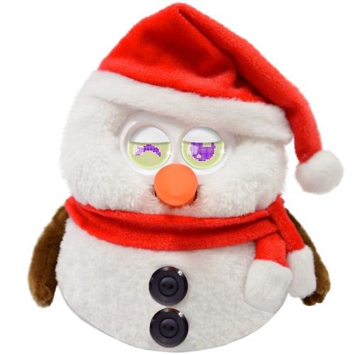 Интерактивная игрушка Умный Снеговик Hibou Boli (15+ функций, 17 см.)