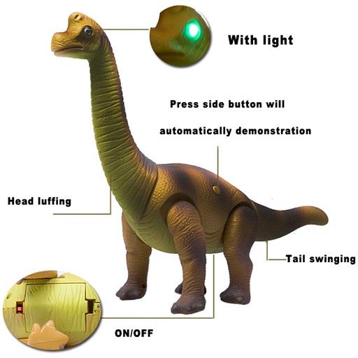 Радиоуправляемый Динозавр Брахиозавр (44 см.) - Фотография