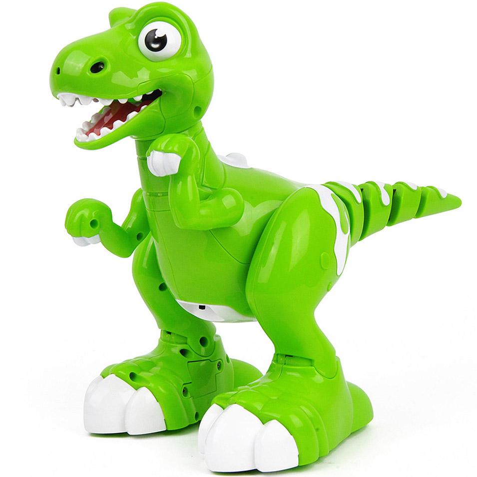 Интерактивный умный Динозавр на пульте управления (32 см.)
