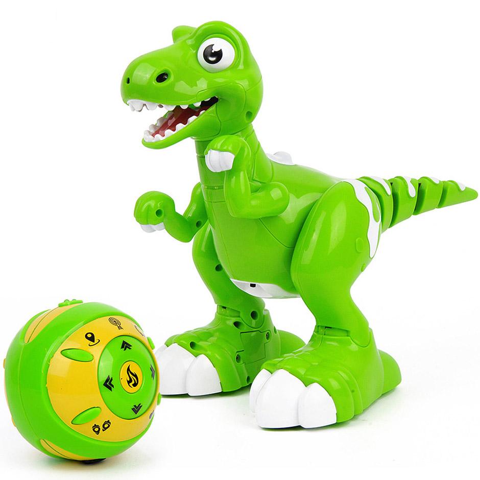 Интерактивный умный Динозавр на пульте управления (32 см.) - Изображение