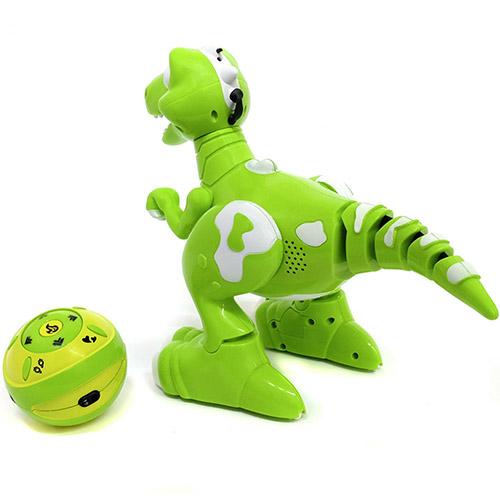 Интерактивный умный Динозавр на пульте управления (32 см.) - Фотография