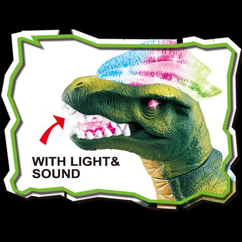 Радиоуправляемый динозавр Тираннозавр (светящийся, 35 см.) - Фотография