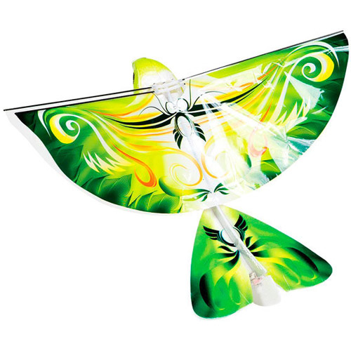 Зеленая Радиоуправляемая Летающая птица
