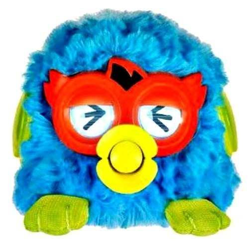 Голубой Мини Ферби (Mini Furby) Party Rockers