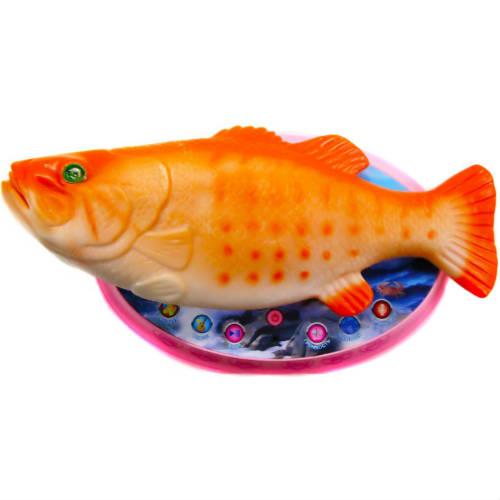 Волшебная золотая рыбка (реагирует на звук, поет)