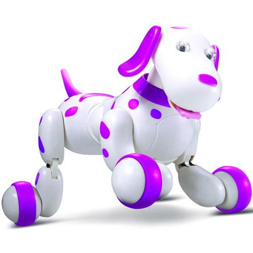Розовый Радиоуправляемая продвинутая собака Smart Dog (25 см.)