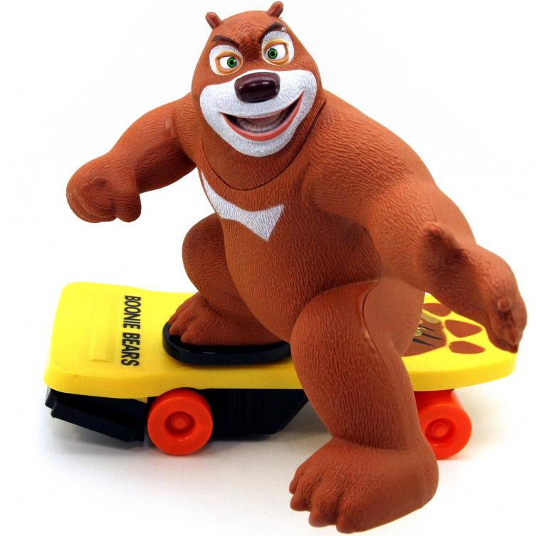 Радиоуправляемый Медведь на скейте (36 см.)