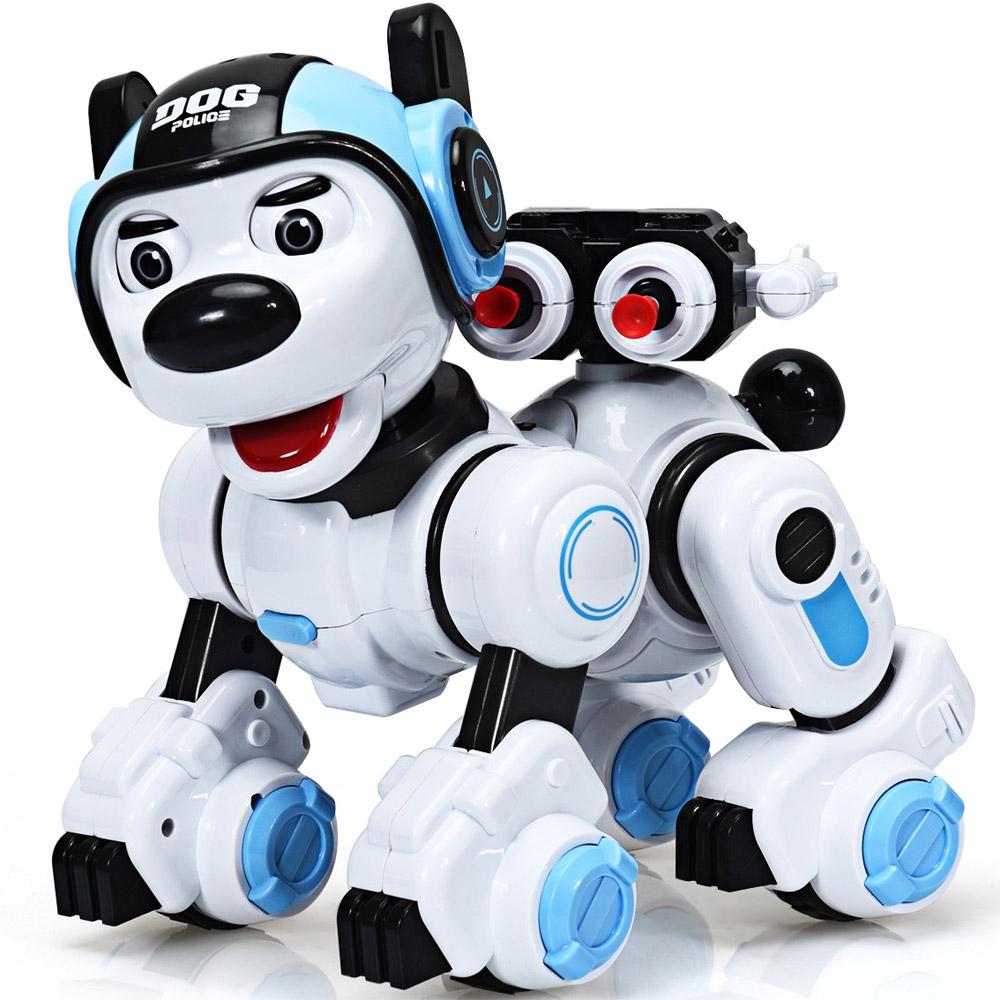 Радиоуправляемая Полицейская собака (25 см.)