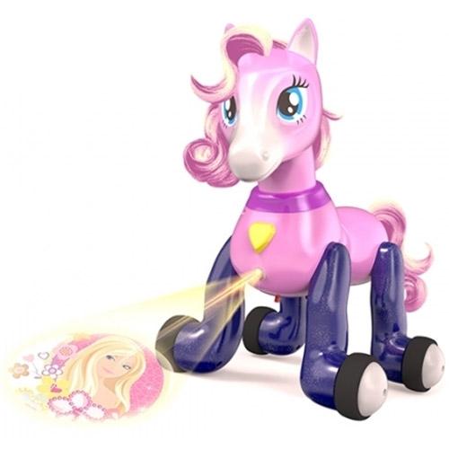 Фиолетовый Пони на пульте управления (27 см.)