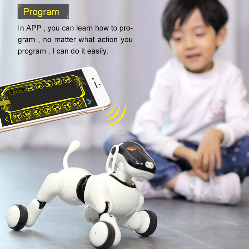 Интерктивная собака PuppyGo с голосовым управлением (30 см.)