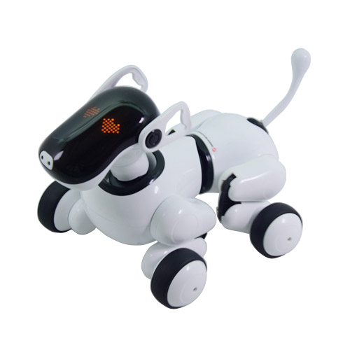 Интерктивная собака PuppyGo с голосовым управлением (30 см.) - В интернет-магазине