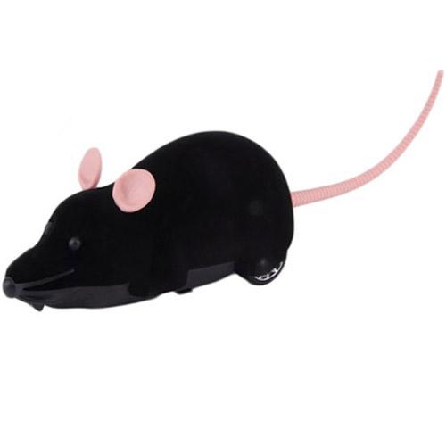 Черный Радиоуправляемая мышь (15 см)