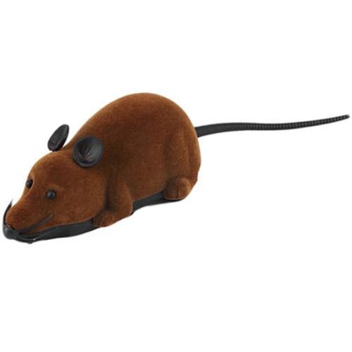 Коричневый Радиоуправляемая мышь (15 см)