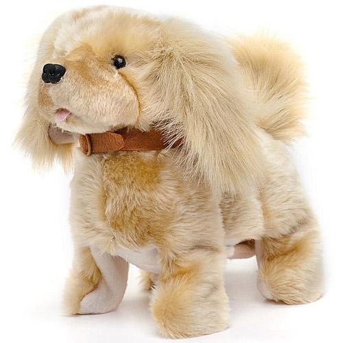 Интерактивный щенок ретривер Вилли (6 функций, 26 см.)