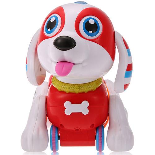 Интерактивная каталка-собачка на пульте управления (24 см.) - Фотография