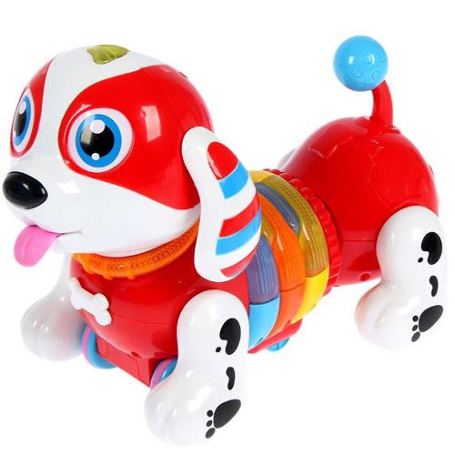 Интерактивная каталка-собачка на пульте управления (24 см.) - В интернет-магазине