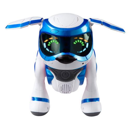 Синий Интерактивная собачка Teksta Robotic Puppy (делает сальто, 26 см)