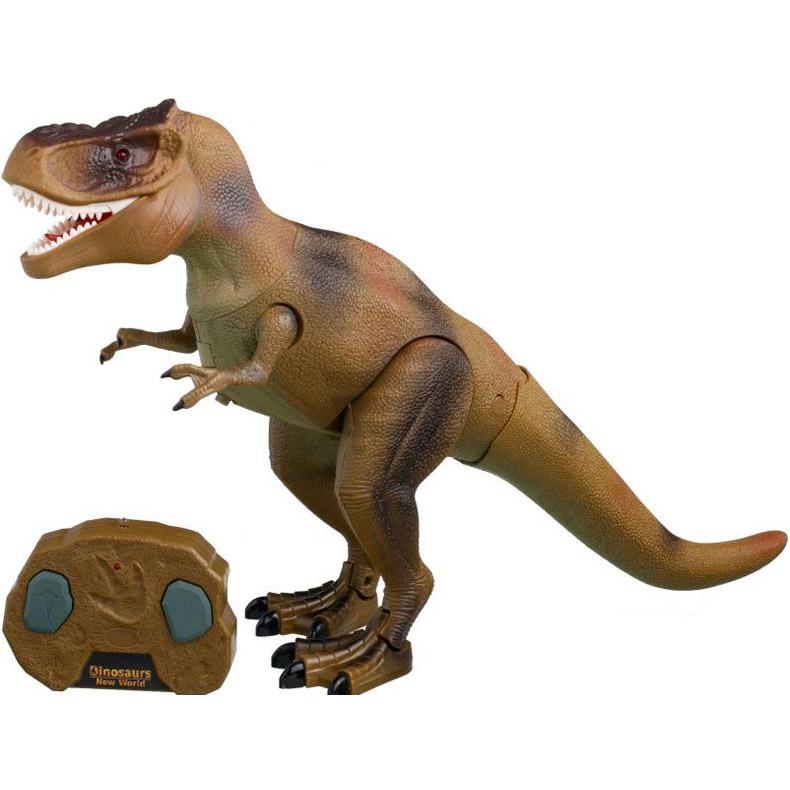 Динозавр Тираннозавр на пульте управления (39 см.) - В интернет-магазине