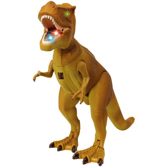 Динозавр Тираннозавр на пульте управления (39 см.)