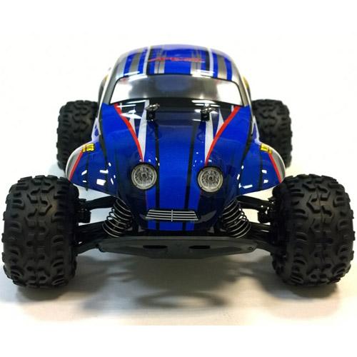 Радиоуправляемый Монстр Django Beetle Blue (1:18, 26 см, 40 км/ч, 2.4GHz)