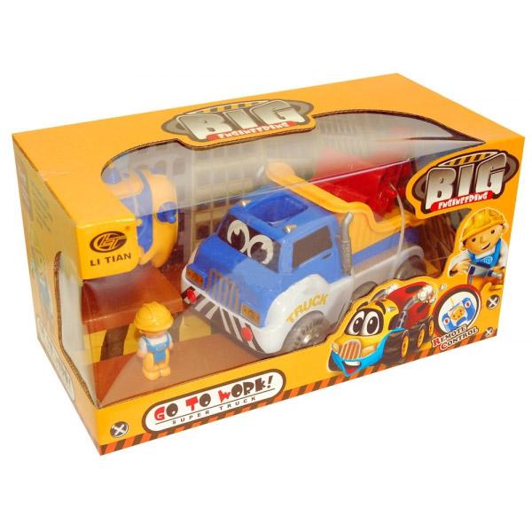 Детский радиоуправляемый автокран (20 см.)