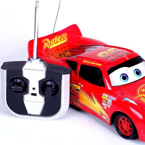 Радиоуправляемая Машинка Тачки Молния МакКуин (24 см.) - В интернет-магазине