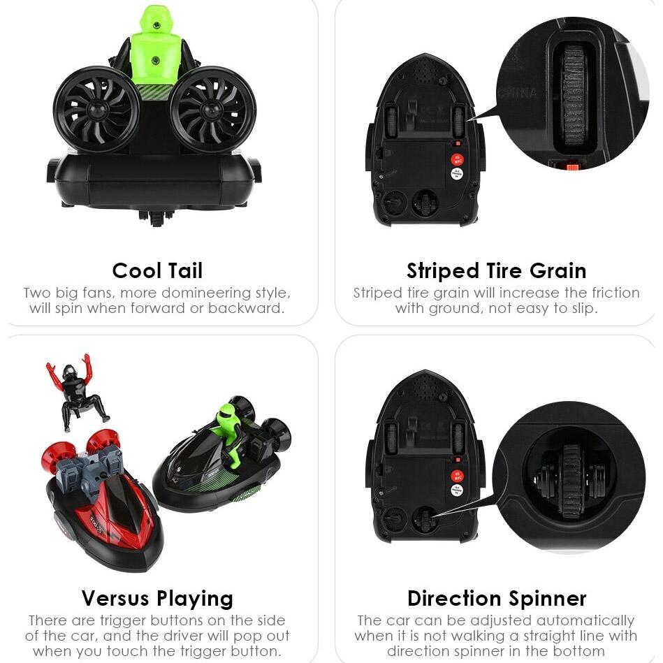 Радиоуправляемый Набор бой Гидроциклов (2 x 16 см.) - В интернет-магазине