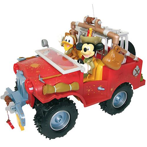 Радиоуправляемая Машинка приключения Mickey Mouse