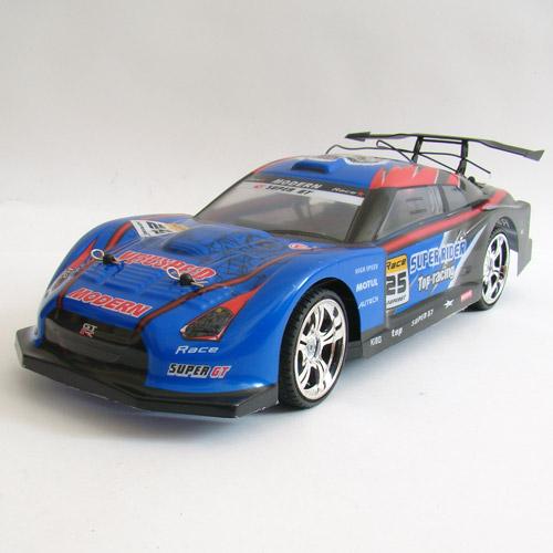 Синий Радиоуправляемая Машина Дрифт Nissan GTR (1:14, 30 см)