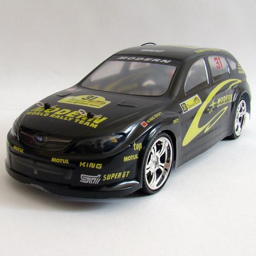 Черный Радиоуправляемая Машина Дрифт Subaru Impreza Hatchback (1:14, 30 см)