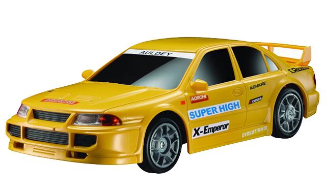 Желтая Радиоуправляемая Машинка Дрифт Auldey Race-Tin (1:24, 20 см)