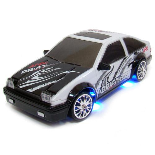 Белый с рисунками Радиоуправляемая Машина Дрифт Toyota Trueno (1:24, 18 см)