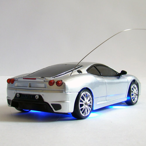 Радиоуправдяемая машинка для дрифта Ferrari F430 (1:24, 18 см)