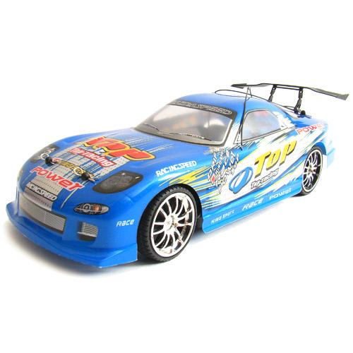 Синий Радиоуправляемая Машина Дрифт Mazda RX-7 (1:14, 30 см)
