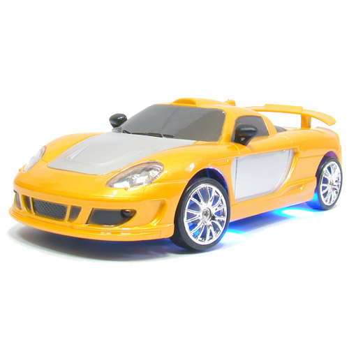 Оранжевый Радиоуправляемая Машинка для дрифтинга Porsche Carrera (1:24, 18 см)