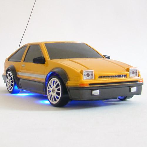 Оранжевый Радиоуправляемая Машина Дрифт Toyota Trueno (1:24, 18 см)