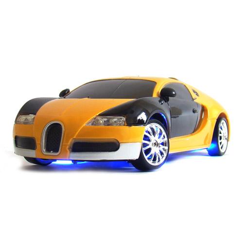 Желтый Радиоуправляемая Машинку для Дрифта Bugatti Veyron (1:24, 18 см)
