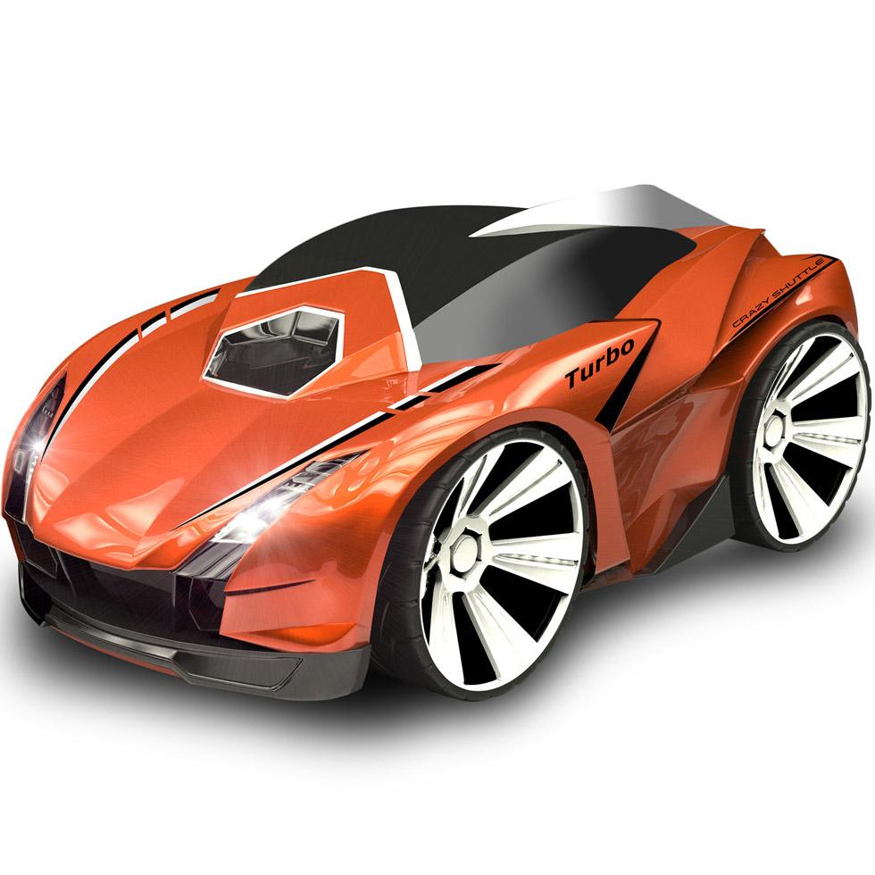 Оранжевая Радиоуправляемая Машинка Турбо Дрифт с голосовым управлением (1:24, 18 см)