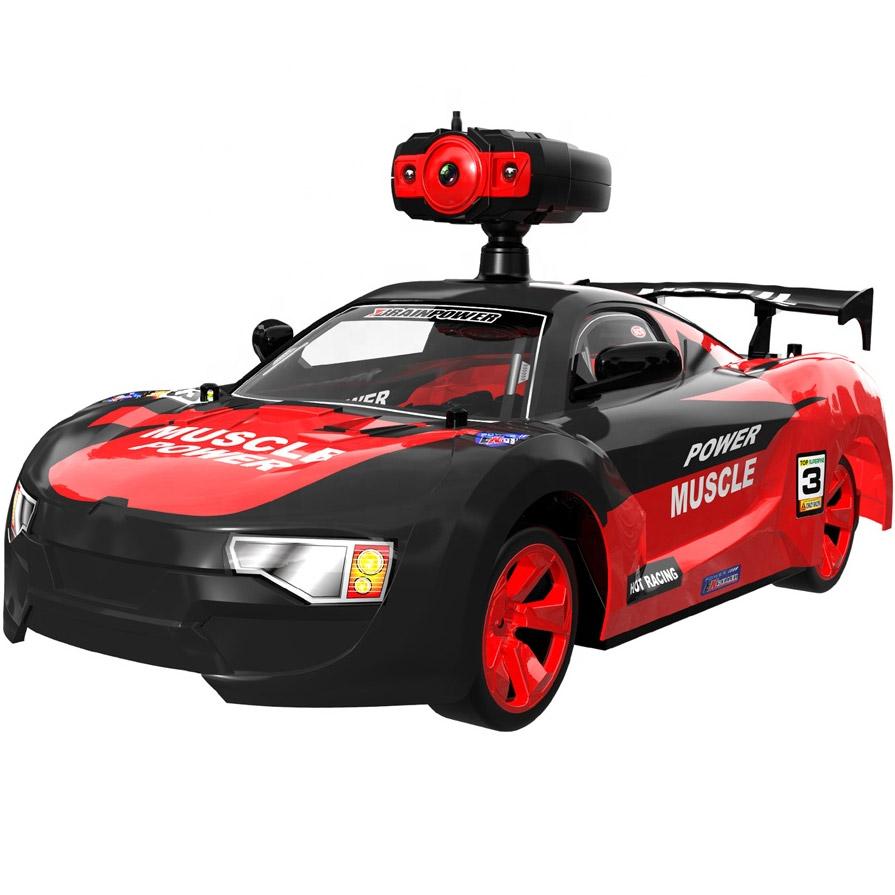Красный Радиоуправляемая Машина Дрифт Crazon с трансляцией видео (1:14, 15 км/ч, 32 см)