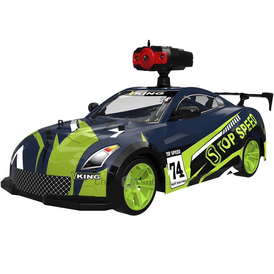 Радиоуправляемая Машина Дрифт Crazon с трансляцией видео (1:14, 15 км/ч, 32 см)