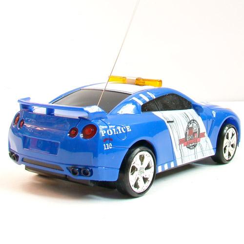 Машина Дрифт 1:24 Nissan Police GT-R R35 (15 см) - Фото