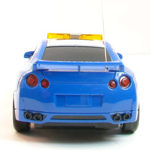 Машина Дрифт 1:24 Nissan Police GT-R R35 (15 см) - Фотография