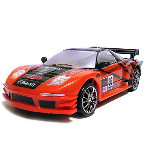 Красная Радиоуправляемая машинка для дрифта Honda NSX (1:24, 18 см)