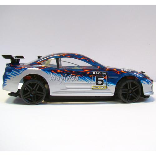 Профессиональная Машинка для Дрифта на радиоуправление HSP Magician Nissan Silvia (1:18, 30 км/ч, 23 см) - В интернет-магазине