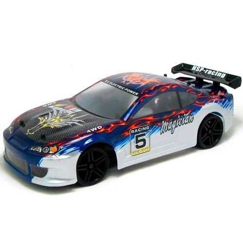 Профессиональная Машинка для Дрифта на радиоуправление HSP Magician Nissan Silvia (1:18, 30 км/ч, 23 см)